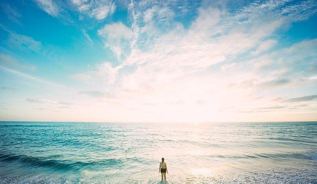 本当の空はもっと高く、本当の海はもっと深い
